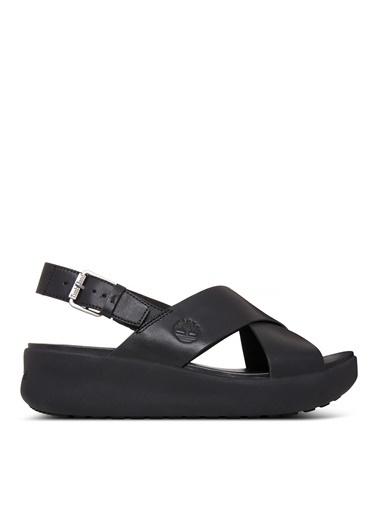 Timberland Sandalet Siyah